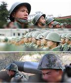 安全帽 GK80鋼盔部隊訓練80防暴塑料頭盔套軍迷演習野戰80圓盔安全帽京東99免運 宜品居家