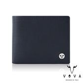 【VOVA】  凱旋II系列8卡IV紋加大款皮夾(深邃藍)VA116W031NY