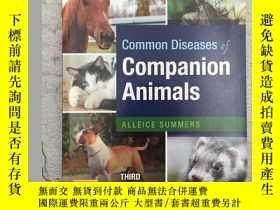 二手書博民逛書店Common罕見Diseases of Companion An