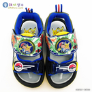 童鞋城堡-LED燈涼鞋 神奇寶貝(寶可夢) PA3580 藍