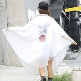 金豬迎新 江南行自行車雨衣單人男女成人水衣單車透明可愛韓版學生騎行雨披