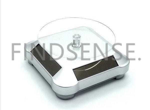 FINDSENSE 太陽能展示臺 轉盤  珠寶展示 手環展示 各類飾品展示架