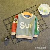 男童長袖上衣-男童t恤1-3歲潮兒童長袖寶寶體恤男小童秋裝童裝男寶寶上衣打底衫 多麗絲