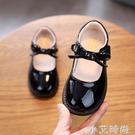 2021春秋新款小女孩圓頭公主鞋兒童皮鞋舞蹈鞋女童亮皮單鞋寶寶鞋 小艾新品