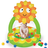 寶貝樂 小花嬰兒充氣水池/游泳池(BTSPMB02-100)