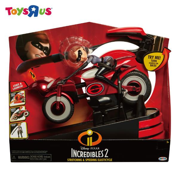 玩具反斗城 超人特攻隊2-11吋彈力女超人摩托車