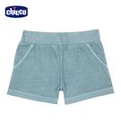 chicco-TO BE-水洗針織牛仔短褲