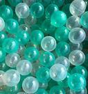 *粉粉寶貝玩具*台灣製~外銷限定海洋球~透明綠色系遊戲球 (球屋、球池專用波波球)~100球賣場