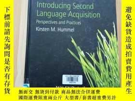 二手書博民逛書店Introducing罕見Second Language Acq