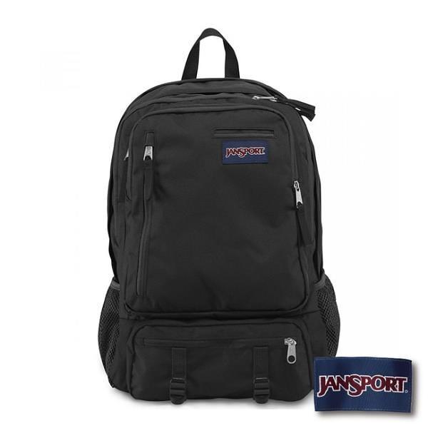 【南紡購物中心】【JANSPORT】ENVOY系列後背包 -黑(JS-41545)