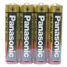 【奇奇文具】國際牌Panasonic 4號 AAA 鹼性電池 收縮膜 (4入/封)