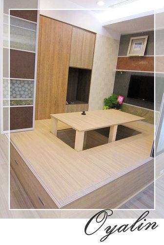 【歐雅系統家具】台中歐雅旗艦店上掀收納和室-自動升降&手動和式桌 EGGER 防潮塑合板 客製化訂做