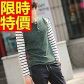 針織背心-百搭秋冬美式風V領男上衣1色61d29【巴黎精品】