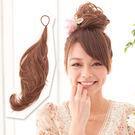 多用途鐵絲髮條可當馬尾包包頭【MT010】HOT!材質再升級新耐熱公主假髮☆雙兒網☆