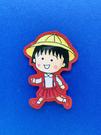 【震撼精品百貨】CHIBI MARUKO CHAN_櫻桃小丸子~小丸子造型貼紙-小丸子上學#57646