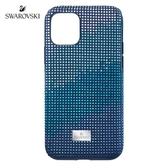 施華洛世奇 Crystalgram iPhone11 Pro 藍色手機殼