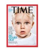 TIME 美國時代雜誌 一年 54期 X 丹布朗名著「起源 」