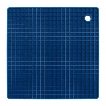 LOVEL 格紋矽膠多用途隔熱墊(藍)