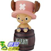 [106東京直購] Rhythm Clock 8RDA51RH06 時鐘 鬧鐘 ONE PIECE 海賊王 喬八 Alarm clock