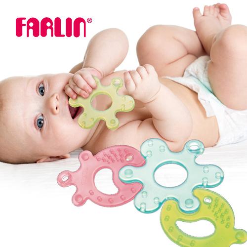 【FARLIN】兒童益智趣味拼圖固齒器2入組 0M+