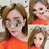 【TT】墨鏡女 明星款網紅新款圓臉韓版優雅眼鏡圓形個性太陽鏡女士墨鏡