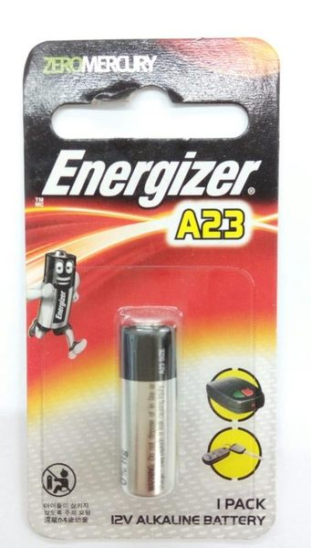 【Energizer勁量 汽車遙控器12V電池A23(1入裝)】300116遙控器電池 電池【八八八】e網購