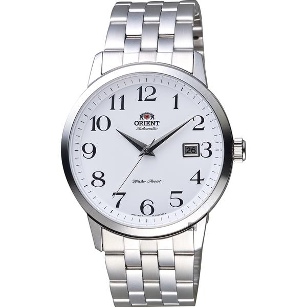 ORIENT東方 飛行者玩家機械錶-白x銀/41mm FER2700DW