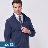 SST&C 男裝 藏青防風夾克 | 0612010012