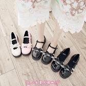 娃娃鞋 日系lolita洛麗塔花邊軟妹鞋學院風低跟jk制服小皮鞋圓頭lo少女鞋 - 小衣里大購物