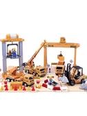 大號兒童工程車套裝大吊車模型男孩挖掘機挖土機大卡車叉車玩具車 城市科技DF