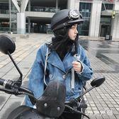機車頭盔女夏季輕便式半盔電動車防紫外線可愛機車四季頭盔男 QG4042『M&G大尺碼』