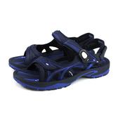 G.P 阿亮代言 涼鞋 防水 深藍色 男鞋 G0796M-20 no274