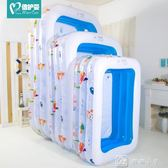 嬰兒童游泳池充氣家庭嬰兒成人家用海洋球池加厚戲水池  igo 娜娜小屋