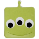 DISNEY 玩具總動員Q版大頭造型方形陶磁小碟/醬料碟(三眼怪)★funbox★sun-art_NR24720