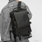 新款男士後背包韓版大容量學生書包電腦包戶外休閒時尚皮質背包男  一米陽光