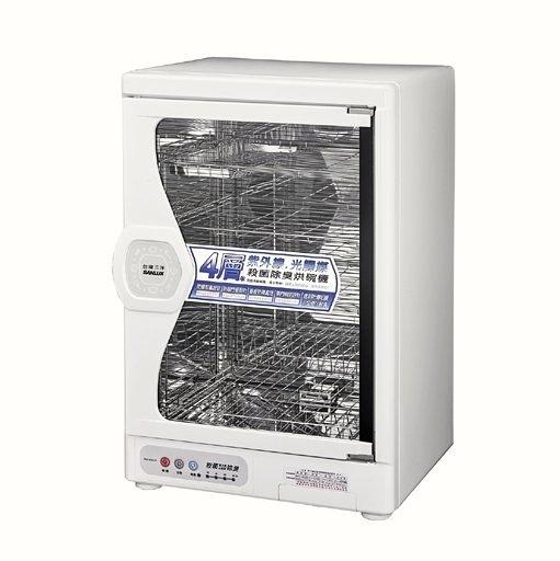 【信源】85公升【 台灣三洋SANLUX 四層不鏽鋼烘碗機】《SSK-85SUD》*線上刷卡*免運費*