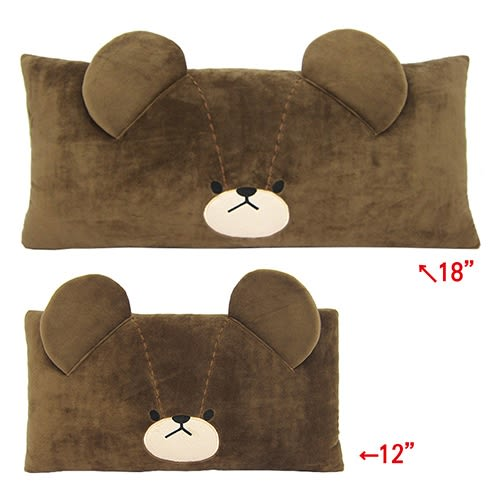 【享夢城堡】小熊學校 18吋雙人抱枕(大)