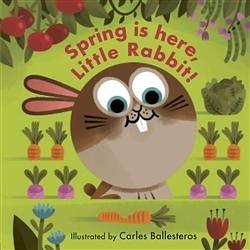 Little Faces:Spring Is Here,Little Rabbit! 變臉操作書