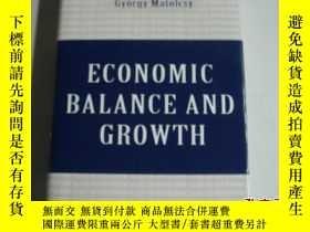 二手書博民逛書店ECONOMIC罕見BALANCE AND GROWTH《精裝》