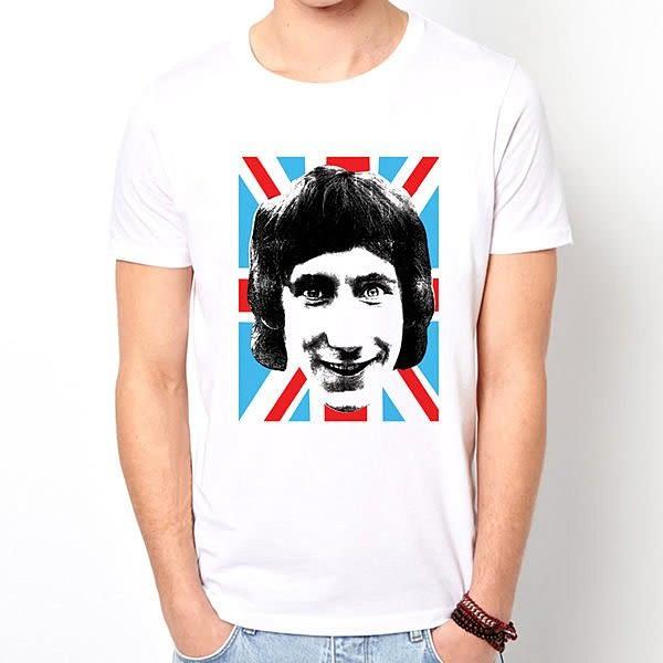 The Who-head短袖T恤-白色 英國國旗 mods 樂團 圖案 搖滾