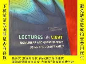 二手書博民逛書店Lectures罕見On Light: Nonlinear And Quantum Optics Using Th