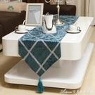 絲絨桌旗歐式簡約電視櫃桌布布藝茶幾桌墊美式餐桌布床旗床尾巾交換禮物