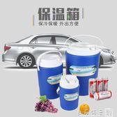巖動手挽保溫冷藏桶 戶外外賣保鮮冷藏車載家用速冷冰袋1L-8L加厚igo   良品鋪子