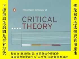 二手書博民逛書店The罕見Penguin Dictionary Of Critical Theory (penguin Refer