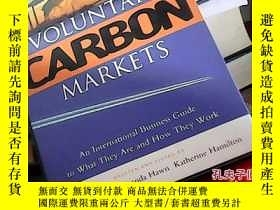 二手書博民逛書店VOLUNTARY罕見CARBON MARKETS19587 出