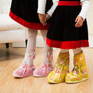 微笑蘑菇兒童加厚防水雨鞋套 兒童雨鞋套 ...