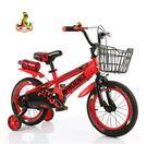14吋兒童自行車 3-9歲小男孩童車女孩寶寶小孩單車-炫彩腳丫店(運動款)