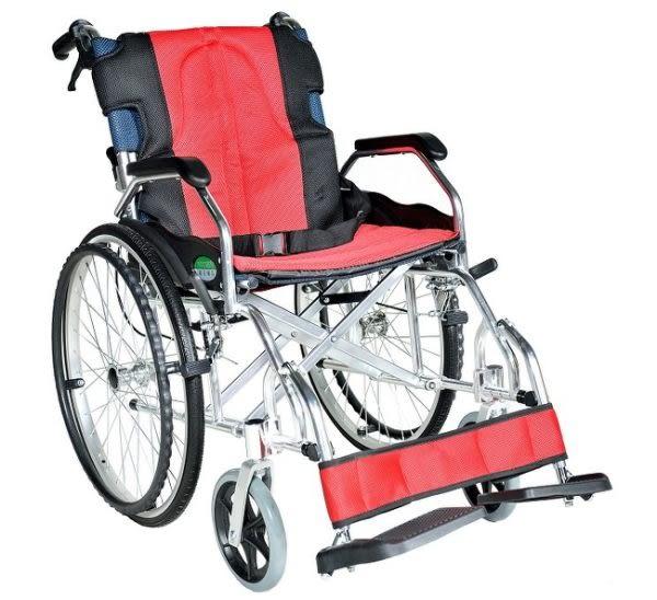頤辰機械式輪椅(未滅菌) (YC-600 大輪 專利輪椅 擱腳的上下調整裝置)