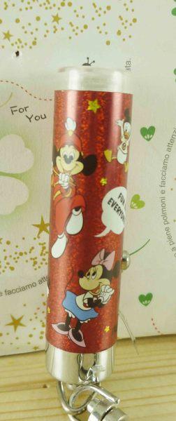 【震撼精品百貨】Micky Mouse_米奇/米妮 ~鑰匙圈-紅