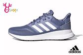 adidas RUNFALCON 成人女款 輕盈緩震 慢跑鞋 運動鞋 Q9362#藍色◆OSOME奧森鞋業